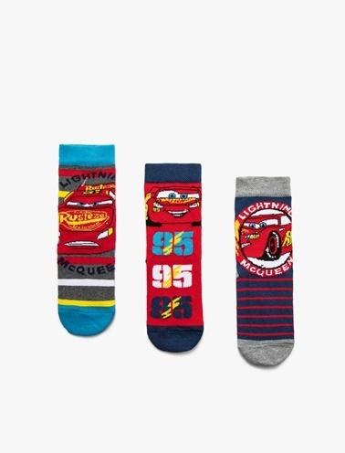Koton Kids 3'lü Çorap Kırmızı